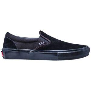 Vans Skate Slip-On Shoes (Blackout)