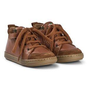 Shoo Pom Bouba Bi Zip Shoes Cognac Lasten kengt 20 EU