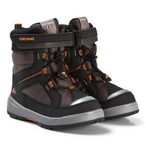 Viking Playtime GTX Boots Dark Grey and Black Snow boots