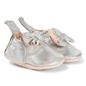 Easy Peasy Sliver Bow Blumoo Crib Shoes Lasten kengt 0-6 months