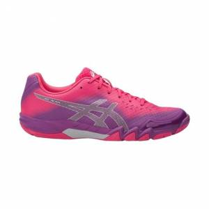 Asics Gel-Blade 6 Women Orchid/Prune/Rouge Red Size 41.5 40.5