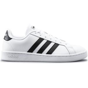 Adidas So Grand Court U Tennarit WHITE/BLACK  - Size: UK 3.5
