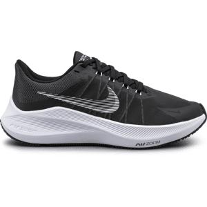 Nike Nike Winflo 8 Women's Running Shoe Juoksu BLACK/WHITE/GREY  - Size: US 6