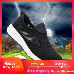 Loecktty 2019 Brand summer lightweight steel toecap men women work & safety boots breathable male female shoes plus size 36-46