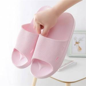 Women Bathroom Shower Slippers 2020 Summer Beach Indoor Outdoor House Casual Rubber Shoes Female Flat Heel Home Slates Slipper