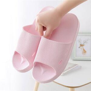 Women Bathroom Shower Slippers 2020 Summer Beach Indoor Outdoor House Casual Rubber Shoes Female Flat Heel Home Slates Slipper