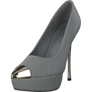 Nelly Shoes Giulia, Sko, Pumps & Høyhælte, Høyhælte, Grå, Dame, 36
