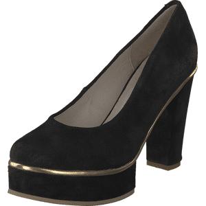 Shoe Shi Bar Nuno Gold, Sko, Pumps & Høyhælte, Pumps, Svart, Dame, 36