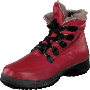 Cavalet Jörn Red, Sko, Boots, Kraftige støvler, Rosa, Rød, Unisex, 37