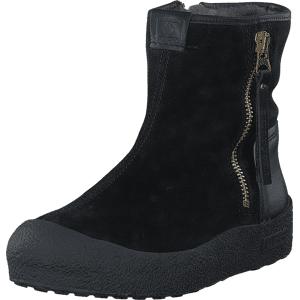 Canada Snow Quebec Gold Zip Black, Sko, Boots, Curling boots, Svart, Dame, 37