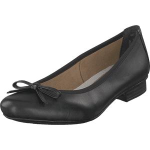 Rieker 51953-00 Black, Sko, Lave sko, Ballerina, Svart, Dame, 40