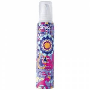 amika:® Bust Your Brass Cool Violet Leave-In Treatment Foam 157 ml