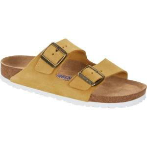 Birkenstock Arizona Suede Soft Footbed - Yellow