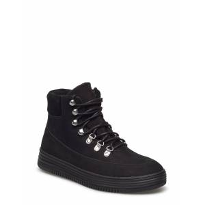 BIANCO Hiking Warm Boot Sneakers Sko Svart BIANCO