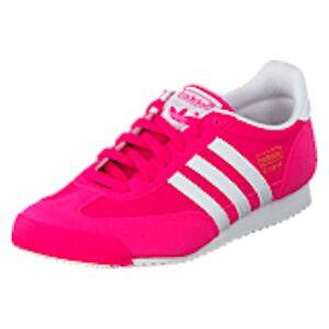 adidas Originals Dragon J Shock Pink S16/Ftwr White, Shoes, rosa, UK 4