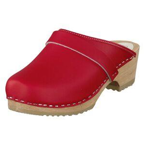 Mohedatoffeln Lina, Dame, Shoes, rød, EU 36
