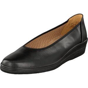Gabor 06.400.37 Black, Sko, Lave sko, Ballerina, Svart, Dame, 35