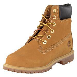 Timberland 6 Inch Premium Boot Wheat, Dame, Shoes, oransje, EU 39