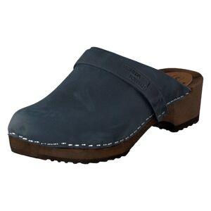Mohedatoffeln Emma Navy, Dame, Shoes, blå, EU 39