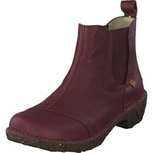 El Naturalista Yggdrasill N158 Rioja, Sko, Boots, Chelsea boots, Brun, Lilla, Dame, 39