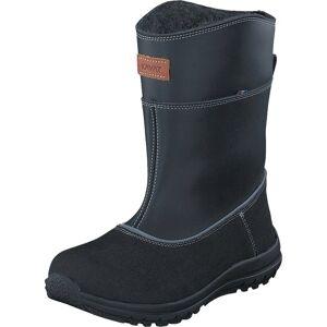 Kavat Oxberg XC Black, Sko, Boots, Varmforet boots, Svart, Barn, 32