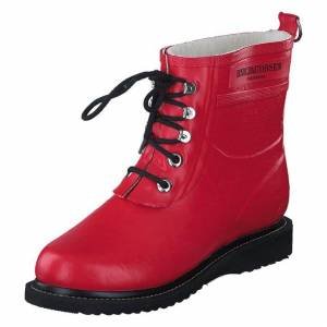 Ilse Jacobsen Rub 2 303 Deep Red, Dame, Shoes, rosa, EU 38