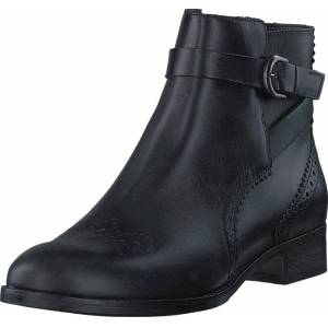 Clarks Netley Olivia Black Leather, Sko, Boots, Chelsea boots, Grå, Dame, 37