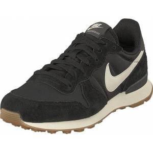 Nike Wmns Internationalist Black/white-anthracite-sail, Sko, Sneakers og Treningssko, Sneakers, Svart, Dame, 37