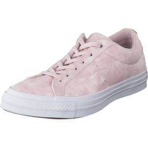 Converse One Star Barely Rose/barely Rose/white, Sko, Sneakers og Treningssko, Lave Sneakers, Hvit, Dame, 38