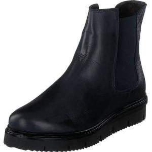 Bianco Warm Cleated Chelsea Jas18 Navy Blue, Sko, Boots, Chelsea boots, Svart, Dame, 40