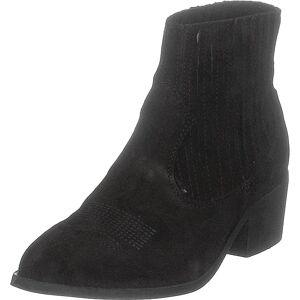 Pavement Cruz Black Suede, Sko, Støvler & Støvletter, Støvletter, Svart, Dame, 38