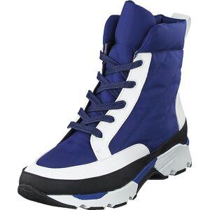 Rodebjer Snow Deep Sea Blue, Sko, Boots, Kraftige støvler, Blå, Dame, 38