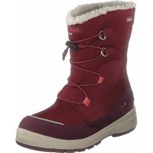 Viking Totak Gtx Wine/dark Red, Sko, Boots, Varmforet boots, Rød, Barn, 32