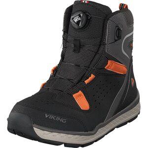 Viking Espo Boa Gtx Black/rust, Sko, Boots, Vandreboots, Grå, Barn, 38