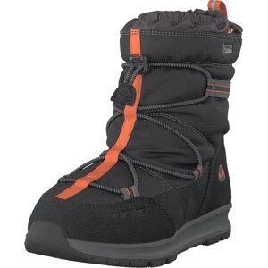 Viking Asak Gtx Black/rust, Sko, Boots, Varmforet boots, Svart, Barn, 22