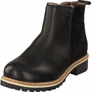 Shepherd Ellinor Black, Sko, Boots, Chelsea boots, Brun, Svart, Dame, 40