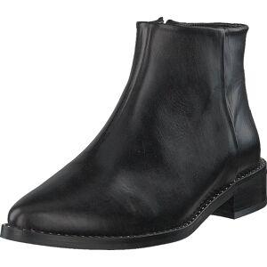 Gardenia Brussels Calf Black, Sko, Boots, Chelsea boots, Svart, Dame, 36