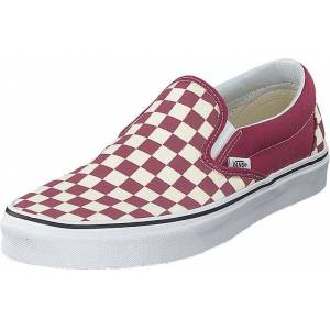 Vans Ua Classic Slip-on (checkerboard) Dry Rose/white, Sko, Lave sko, Slip on, Rosa, Unisex, 36