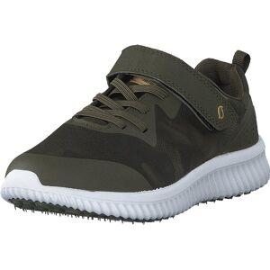 Leaf Glomma Khaki, Sko, Sneakers og Treningssko, Sneakers, Grå, Barn, 34