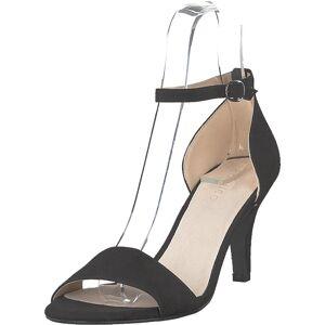 Bianco Adore Basic Sandal 101 - Black 1, Sko, Pumps & Høyhælte, Sandaletter med lave hæler, Svart, Dame, 36