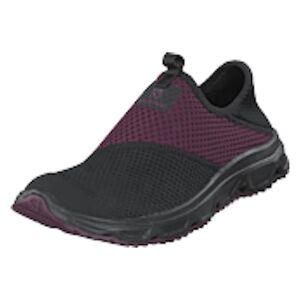Salomon Rx Moc 4.0 W Black/black/potent Purple, Shoes, svart, UK 5