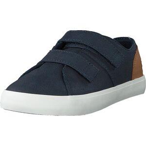 Timberland Newport Bay Leather 2 Str Navy Full Grain, Sko, Sneakers og Treningssko, Lave Sneakers, Blå, Barn, 27