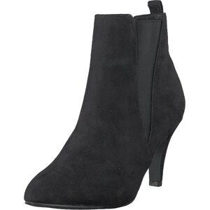 Bianco Low Heel Chelsea Black, Sko, Støvler & Støvletter, Støvletter, Svart, Dame, 39