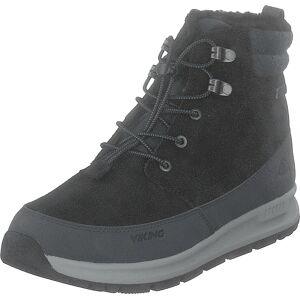 Viking Rotnes Gtx Black/charcoal, Sko, Boots, Vandreboots, Grå, Unisex, 36