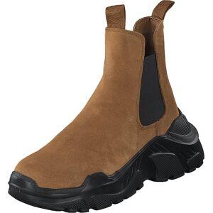 Svea Evil Boot Camel, Sko, Boots, Høye boots, Brun, Dame, 36