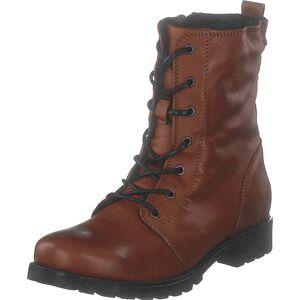Emma 495-2857 Cognac, Sko, Boots, Høye boots, Brun, Dame, 36