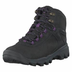 Merrell Vego Mid Leather North Wp Ice+ Black/gloxinia, Dame, Shoes, svart, EU 36