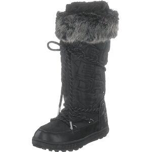 Superdry Stealth Snow Boots Black, Sko, Støvler og Støvletter, Varmforet høye støvler, Svart, Dame, 37