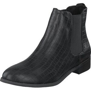 Bianco Biabelene Classic Chelsea Boot Black, Sko, Boots, Chelsea boots, Svart, Dame, 39