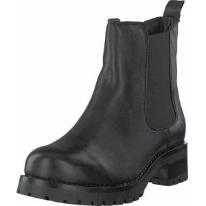 Bianco Biacoral Winter Chelsea Black, Sko, Boots, Chelsea boots, Svart, Grå, Dame, 38